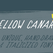 Yellow canary font 419961 icon