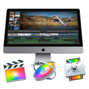 Apple final cut pro x motion and compressor logo icon