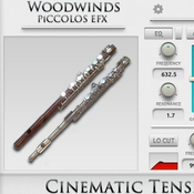 Cacophony inc cinematic tension fx 2 vol 3 piccolos logo icon
