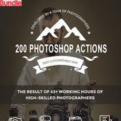 Graphicriver 200 photoshop actions 11207916 icon
