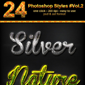 24 photoshop text effect styles vol 2 11794494 icon