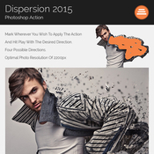 Dispersion 2015 photoshop action 12005597 icon