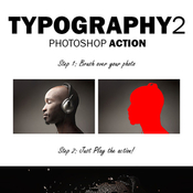 Typography 2 photoshop action 12095200 icon