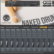 Wilkinson audios naked drums icon
