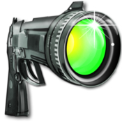 Photo gun edit all your photos automatically icon
