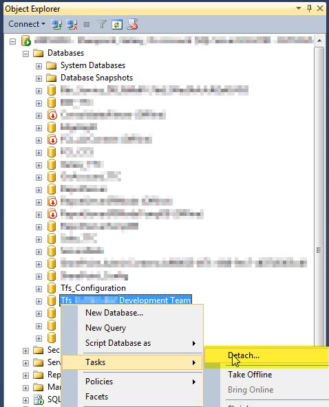 2 Detach SQL Server Instance