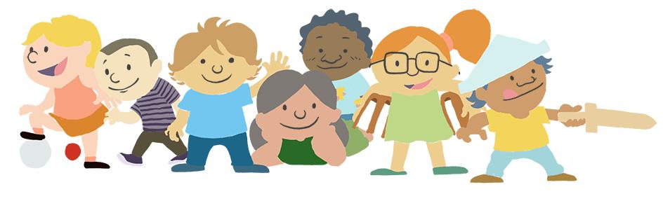 Ilustração para o Dia da Criança