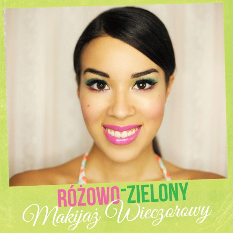 MAKIJAZ ZIELONO ROZOWY-01
