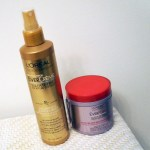 Favourite L'Oreal Hair Products: Leave in Spray + Hair Mask