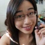 Bite Beauty Lush Lip Tint in Blackcurrant…for an interview look!