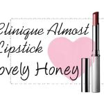 Purse Favourite: Clinique Almost Lipstick in Lovely Honey