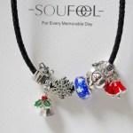 Soufeel Charm Bracelet- Christmas Charm Edition
