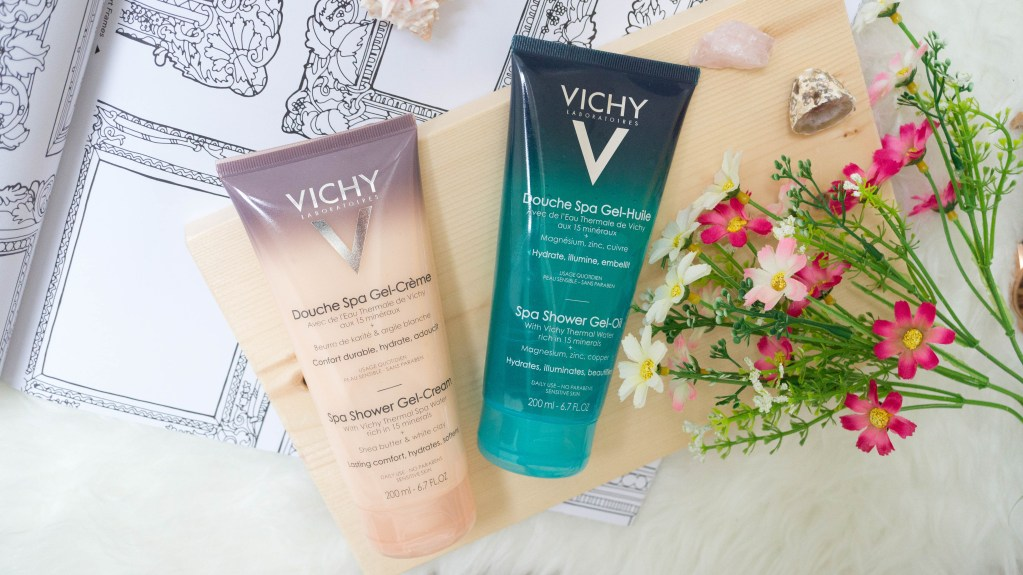 /showerthoughts with Vichy Ideal Body Spa Shower Gel-Cream & Gel-Oil