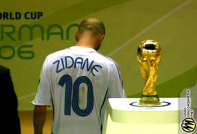 Zidane perdente, saluta la coppa del mondo dopo l'esplulsione