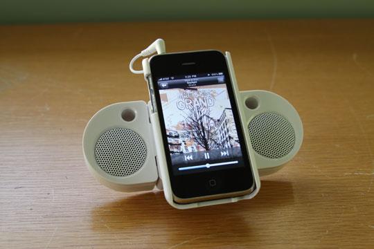 livespeakr iPhone iPod touch speaker