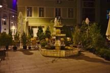 Sibiu: Die Altstadt bei Nacht