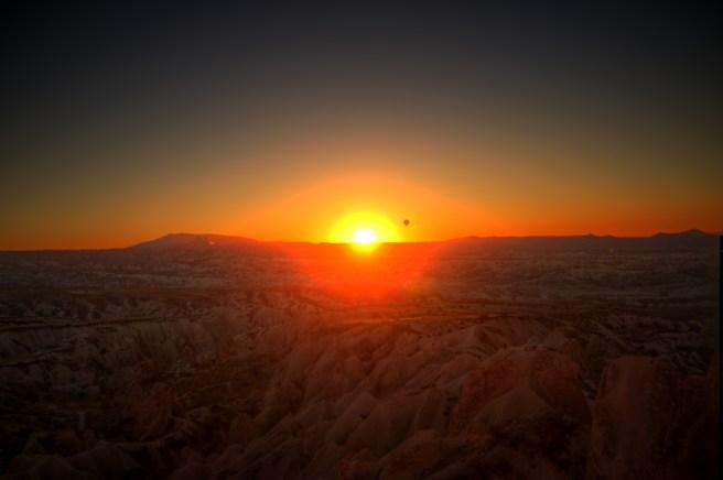 Kappadokien: Sonnenuntergang über einer anderen Welt