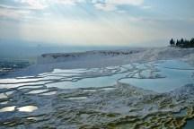 Pamukkale: Die Sinter Terassen wurden bereits vor 2000 Jahren zum Baden benutzt