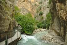 Seklikent Canyon: 300m hoch und wenige Meter breit
