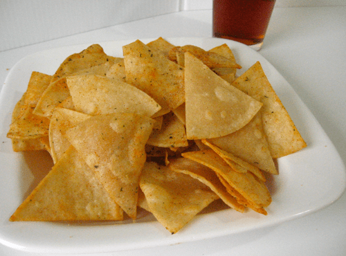 How to make doritos