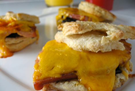 Fig Breakfast Sandwiches