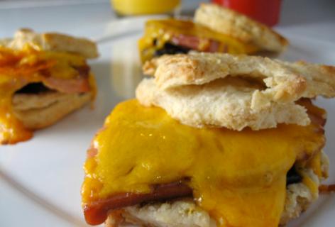 Fig Breakfast Sandwiches