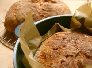 Garden Tomato Bread - Corner Loaf