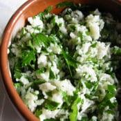 Food Loves Writing: Lemon Rice-Parsley Salad