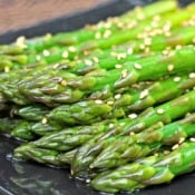 Inspired 2 Cook: Chilled Sesame Asparagus