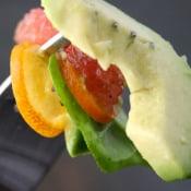 Picky Cook: Grapefruit Avocado and Kumquat Salad