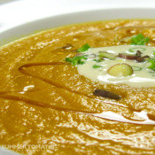 Summer Tomato: Spicy Carrot Ginger Soup