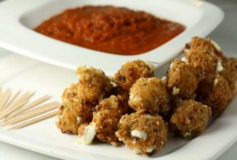 Fried Mozzarella Balls