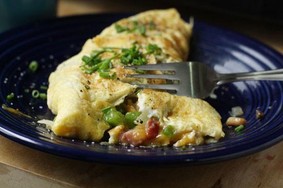 denver omelet done
