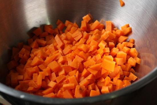 potatoes diced