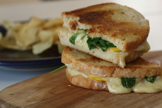 Peach Grilled Cheese
