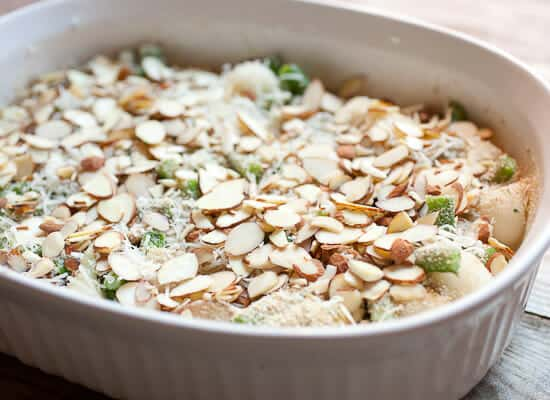 Green Bean Casserole from scratch ready