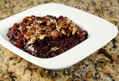 Roasted Cranberry Sauce