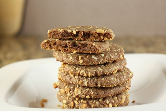Nutella Surprise Cookies