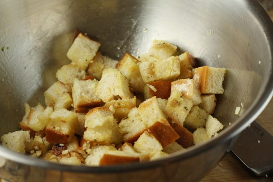 crouton making