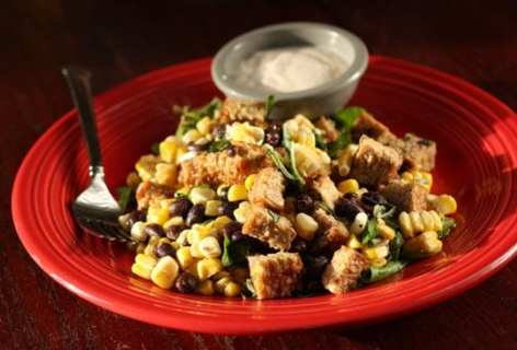 Grilled Tempeh Salad