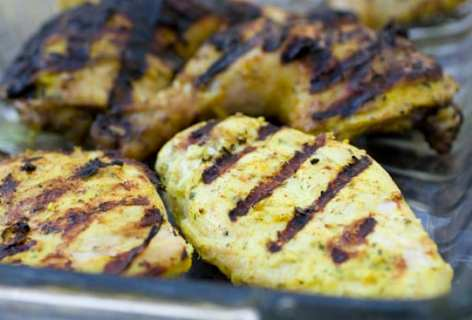 Grilled Yogurt Chicken