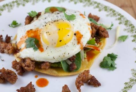 The Breakfast Tostada