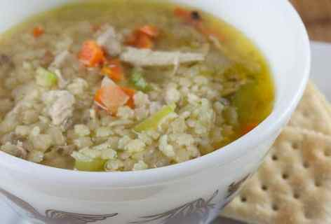 Chicken and Stars Soup