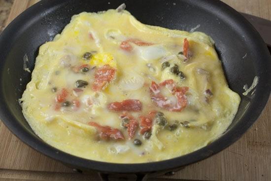ready - Lox Omelet