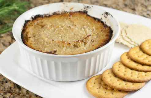 Baked Fennel Dip from Macheesmo