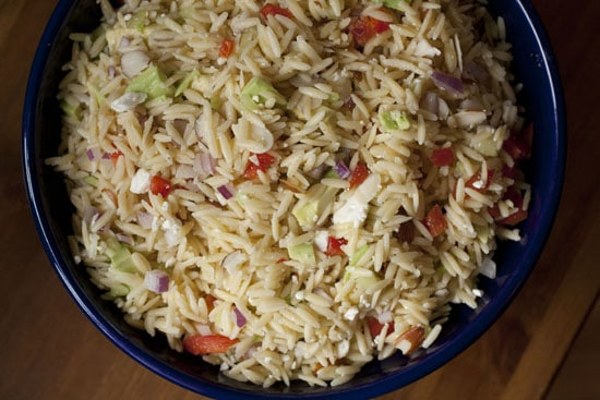 Greek Orzo Salad recipe