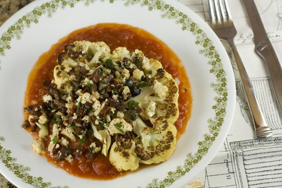 Cauliflower Steaks recipe