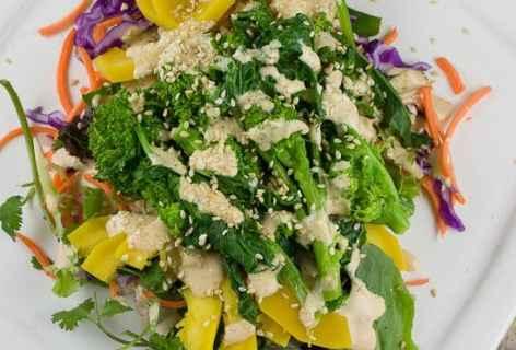 Steamed Squash Salad