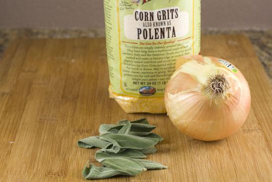basics for Polenta Gratin