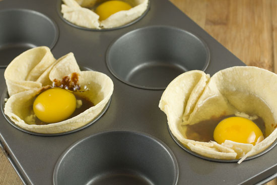 eggs for Tex Mex Egg Cups